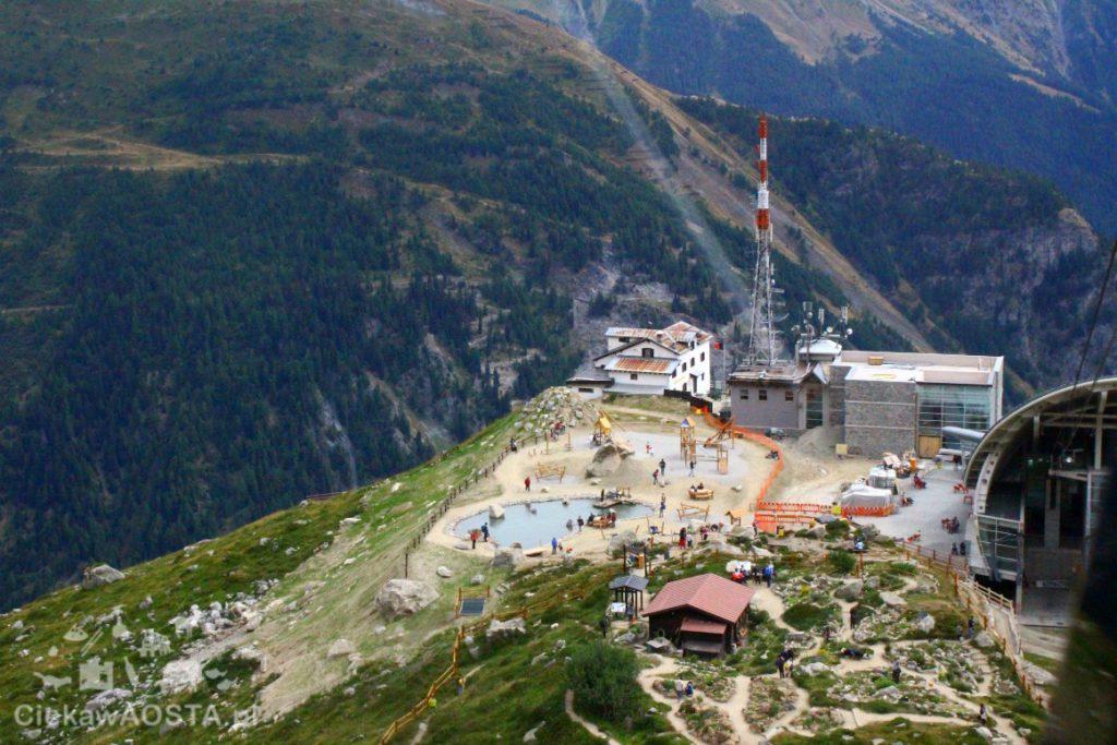 Stacja kolejki Skyway - Pavillon na wysokości 2.173 m n.p.m.