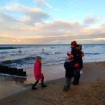 Il primo gennaio 1gennaio al Mare Baltico c chi giocahellip