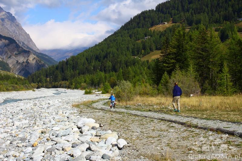 Październik jest nadal dobrym momentem na wycieczkę rowerową po Val Veny!
