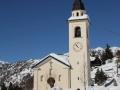 Chamois Wieża i kościół