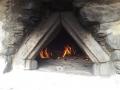Ogień płonie