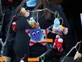Ręcznie wykonane ozdoby choinkowe na jarmarku świątecznym w Dolinie Aosty