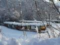 Śnieg w Alpach w Dolinie Aosty