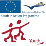 Logo programu Młodzież w Akcji, finansowanego ze środków Unii Europejskiej.