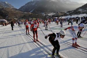 Ośrodek narciarstwa biegowego w Cogne. Żródło http://www.marciagranparadiso.it