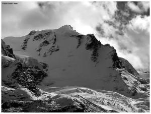 """Szczyt Gran Paradiso. Zdjęcie należy do Carmine """"Washi"""" Troise."""