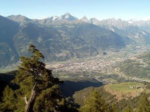 Widok na Aostę, Źródło it.wikipedia.org