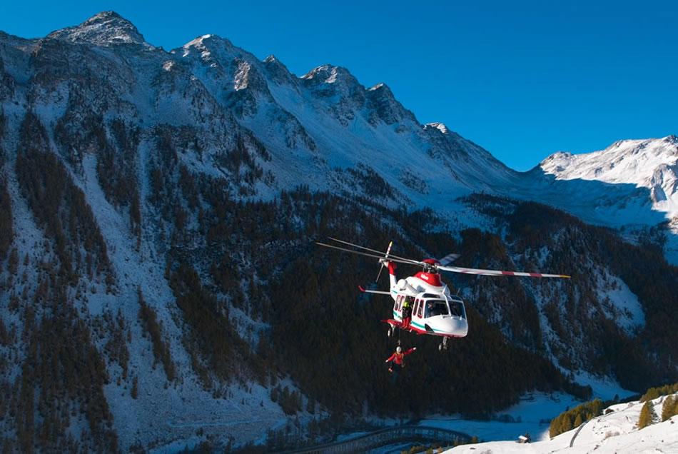 Alpejskie Pogotowie Ratunkowe. Helikopter w akcji.