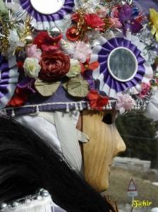 Tradycyjna maska karnawałowa z Wielkiej Doliny Świętego Bernarda. Źródło http://www.naturaosta.it/