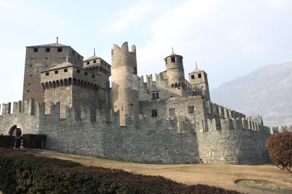 Zamek w Fénis