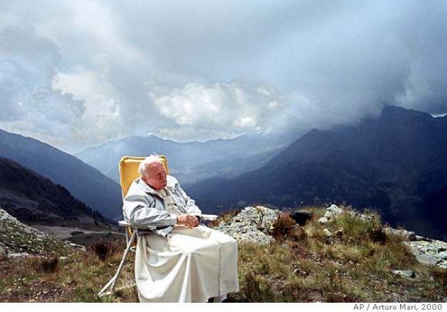 Jan Paweł II w Dolinie Aosty