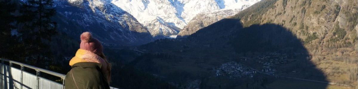 Taras widokowy Mont Blanc