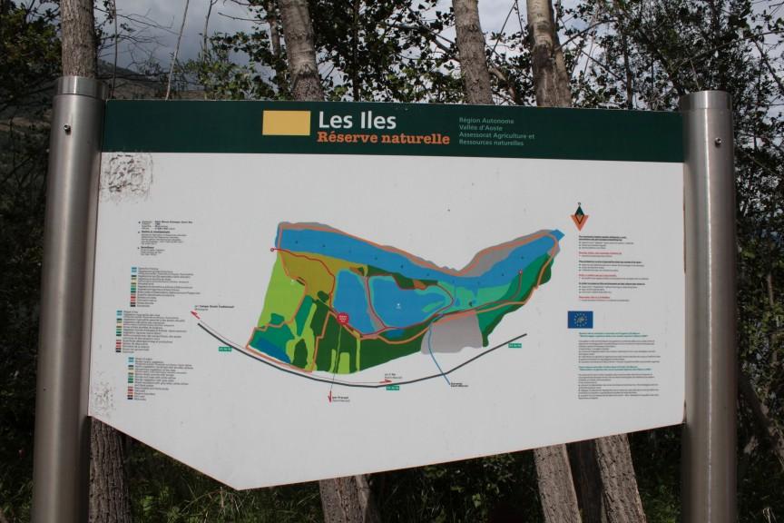 Mapa rezerwatu przyrody