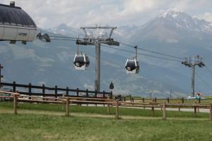 Kolejska linowa Aosta - Pila