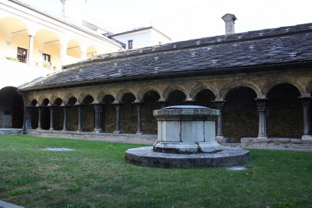 Krużganek Sant'Orso w Aoście