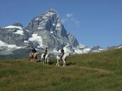 Spacer na koniu u stóp Matterhorn to jedno z moich postanowień noworocznych :-)