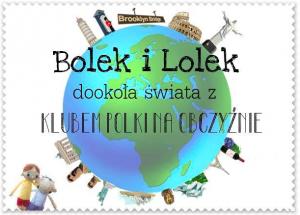 Poster ufficiale dell'azione Bolek e Lolek in giro per il mondo