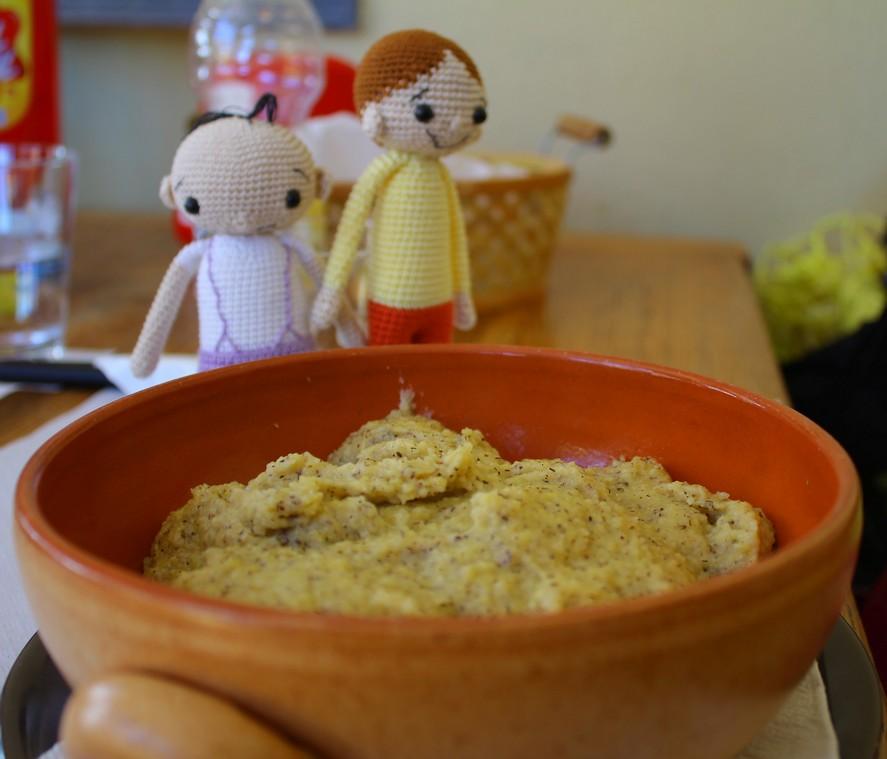 Bolek i Lolek polenta