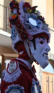 Typowa maska w Zimnej Dolinie w Alpach: le landzette