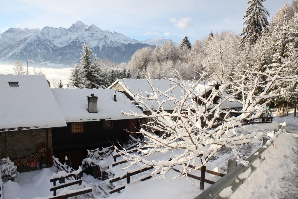 29 marca 2013 roku. Alpy na wysokości 1200 m n.p.m.