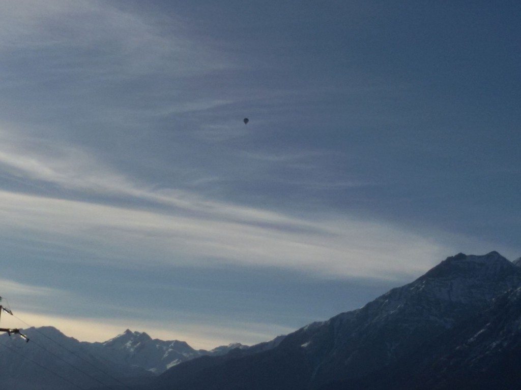 Lot Balonem nad Alpami