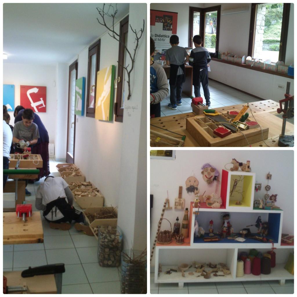 Sala laboratorium dla dzieci w muzeum MAV e Fenis