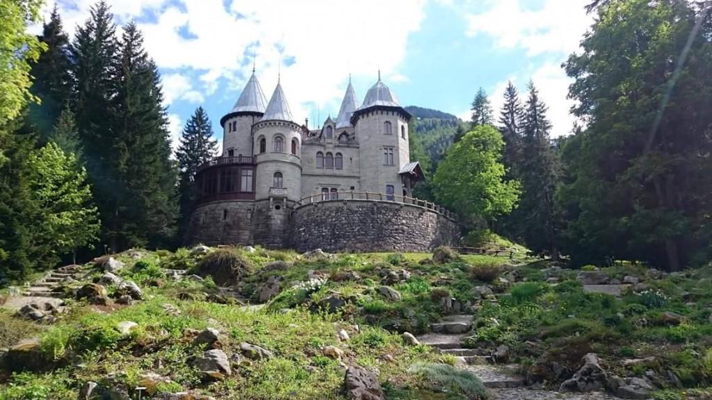 Zamek Savoia w Gressoney-Saint-Jean. Zdjęcie przesłane przez czytelniczkę. Dziękuję :-)