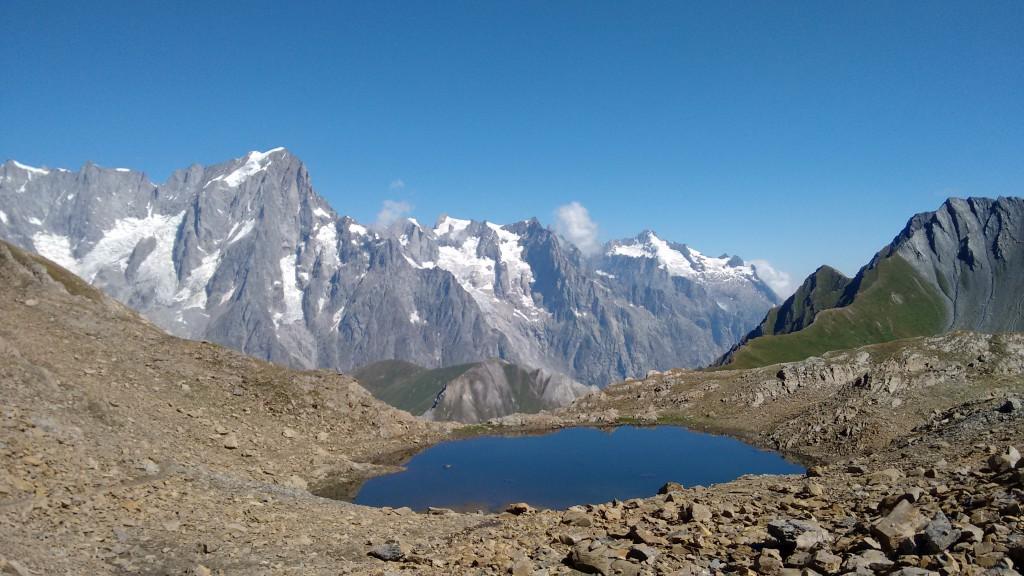Alpejskie jezioro Licony