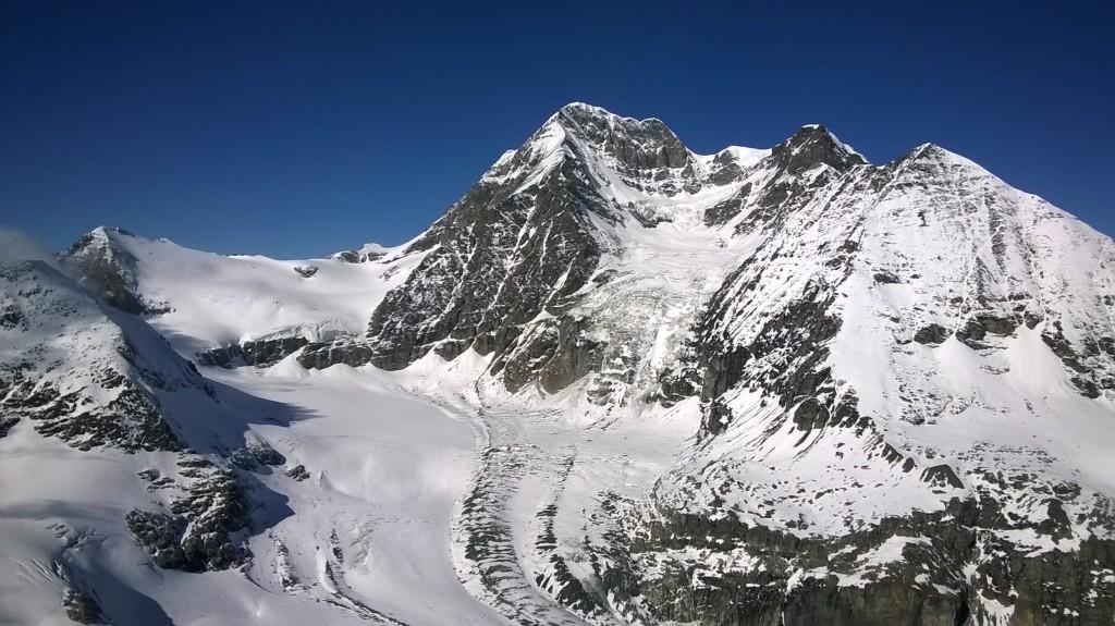 Widok na Grand Combin z Mont Avril. Archiwum Alex.