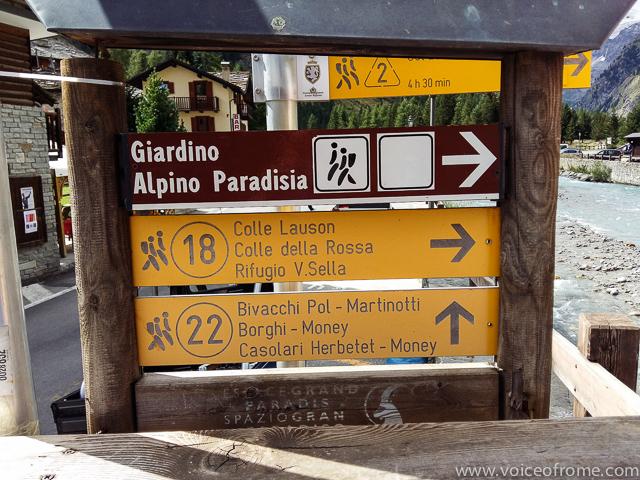 Rifugio Sella początek szlaku