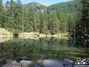 Jezioro Pellaud w Rhemes-Notre-Dame