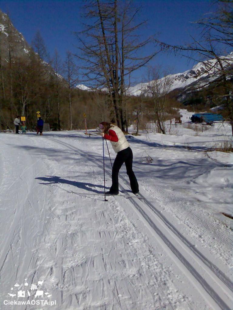 Val Ferret i moje zmagania na nartach biegowych.
