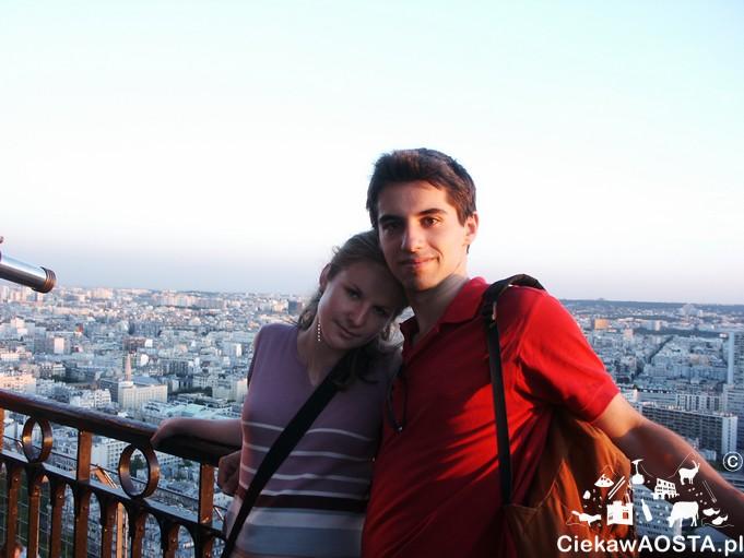 My w 2004 roku w Paryżu. Dziwnie młodzi :-D