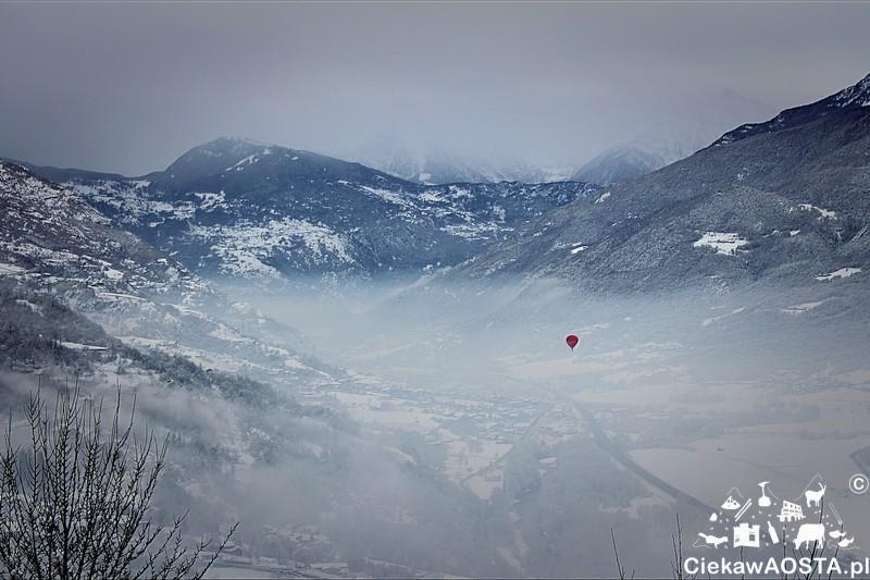 Pogoda popsuła mi szyki, ale pewnie lecącym balonem też. Chociaż... Jeśli polecieli nad chmurami to dopiero był lot!