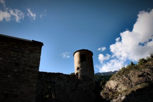 Zamek w Quart, jedna z inwestycji waloryzacji dóbr kulturowych Regionu.