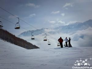 Crevacol - jeden z małych ośrodków narciarstwa zjazdowego w Valle d'Aosta.