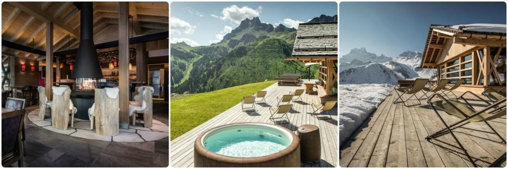 Schronisks górskie w Alpach zamieniają się w luksusowe rezydencje dla turystów. Żródło: http://www.dolomiticlass.it/