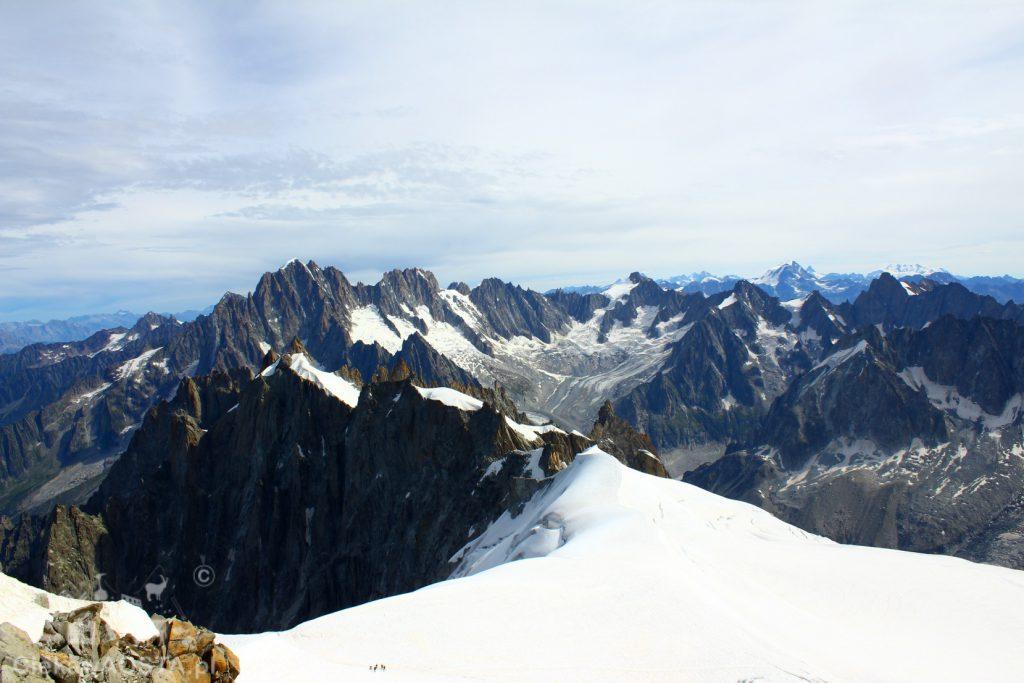 Masyw Aiguille de Chamonix.