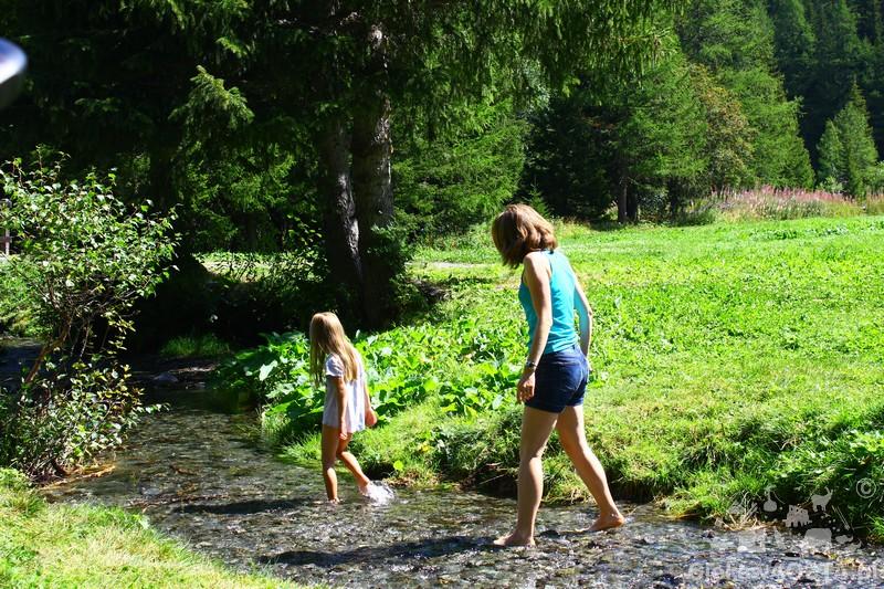 Arpy latem to świetne miejsce dla małych dzieci.