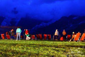 Cervinia Plan Maison - 1 sierpnia odbyła się impreza świętowania 80 lat kolejki górskiej.