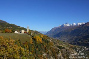 Saint-Nicolas widziane z tarasu panoramicznego.
