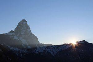 Szlaki u stóp Matterhorn