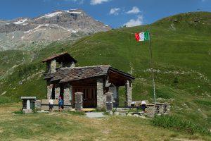 Gdzieś u stóp Matterhorn po włoskiej stronie
