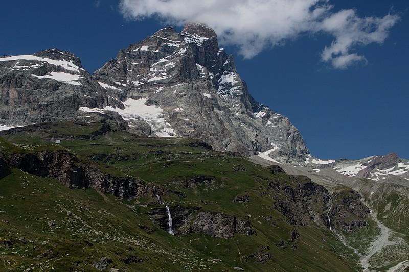 Widok na Matterhorn / Cervino
