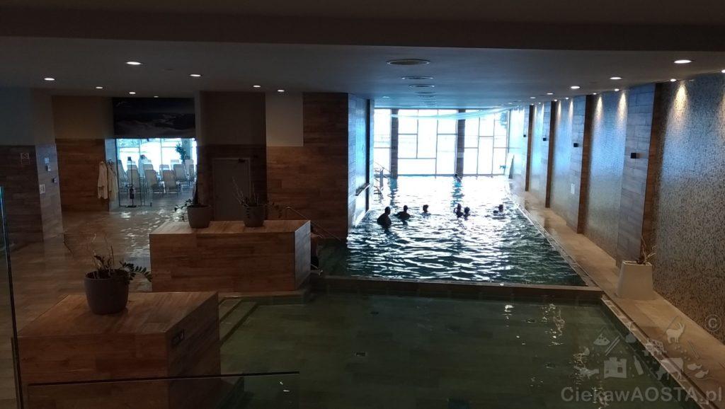Część basenów w spa