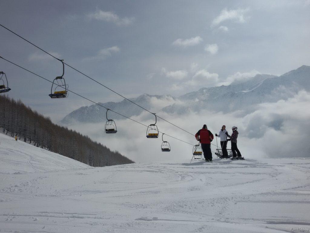 Orodek narciarski w Crevacol
