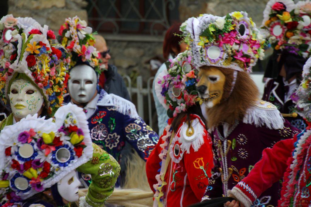 Karnawał w Coumba Freida w Valle d'Aosta