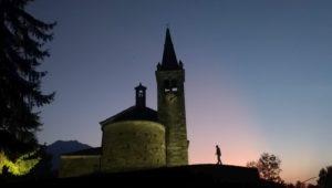 Jeden z najstarszych kościołów w Valle d'Aosta