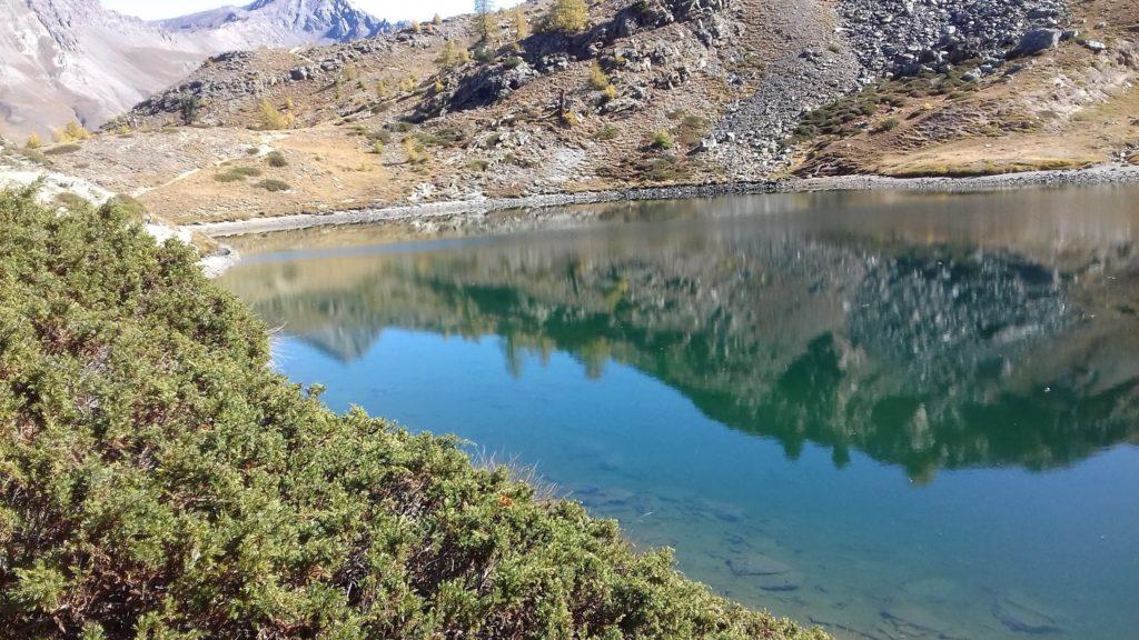 Jezioro Loie w Cogne