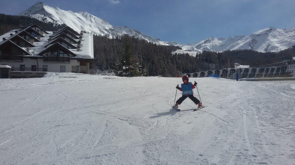 Nauka jazdy na nartach w Pila